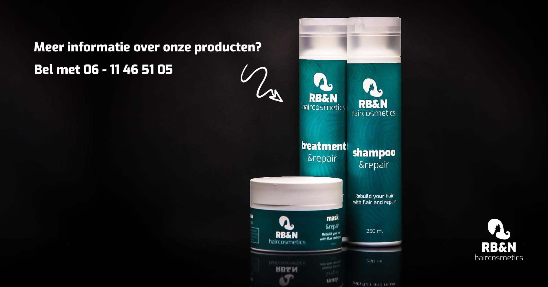 RB&N Haircosmetics producten zijn nu verkrijgbaar!